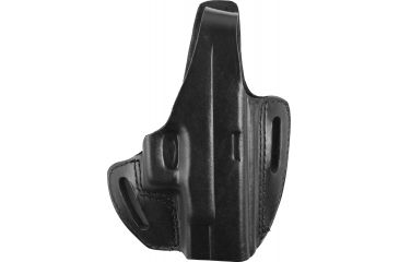 Gould Goodrich Two Slot Pancake Holster, Black, Right B802G30