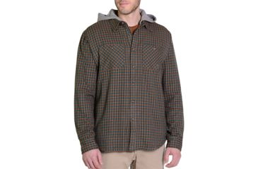 6a325275 Gramicci Murphy Hooded Flannel Shirt Jacket - Men's | Free Shipping ...