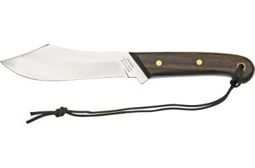 Grohmann Deer and Moose Knife Fixed Blade Knife, 5.75in, Stainless Blade, Rosewood Handle GR108
