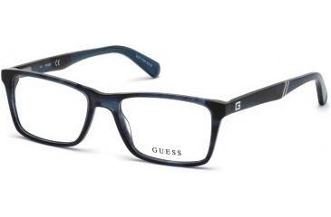 7483840f9a635 Guess GU1954 Eyeglass Frames - Blue Frame Color