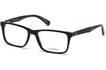 6248142263 Guess GU1954 Eyeglass Frames - Shiny Black Frame Color