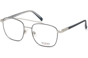 80ab7bb3d9fc6 Guess GU3038 Eyeglass Frames - Shiny Blue Frame Color