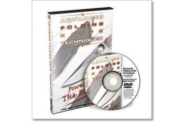 Gun Video DVD - Advanced Folding Knife Techniques X0174D