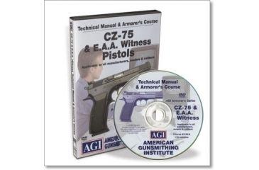Gun Video DVD - AGI: CZ-75, EA Witness X0473D