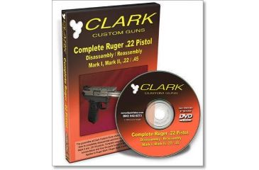 Gun Video DVD - Clark Complete Ruger MK II .22 Disassembly/Reassembly X0114D
