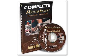 Gun Video DVD - Complete Revolver Disassembly/Reassembly w/ Jerry Miculek X0420D