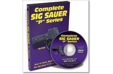 Gun Video DVD - Complete Sig Sauer Disassembly/Reassembly X0011D