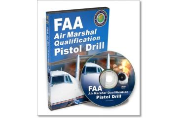 Gun Video DVD - FAA Air Marshall Pistol Drill X0565D