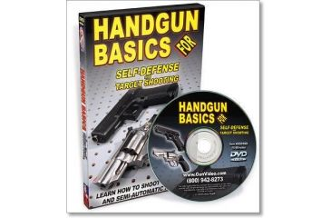 Gun Video DVD - Handgun Basics For Self-Defense SD018D