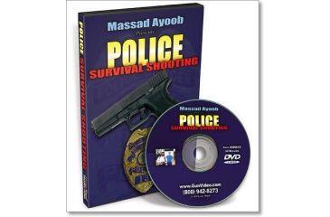 Gun Video Police Survival Shooting with Massad Ayoob C0001D