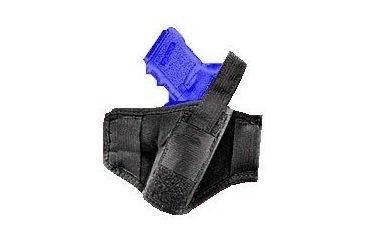 "Gunmate Black Pancake/Belt Holster For Up To 4"" Barrel Pistols 21210"