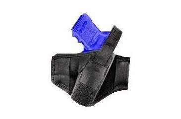 "Gunmate Black Pancake/Belt Holster For Up To 4"" Barrel Revolvers 21228"