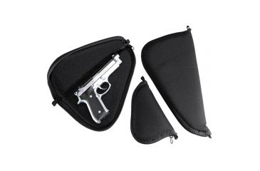 GunMate Pistol Soft Case/Rug, Black, Small