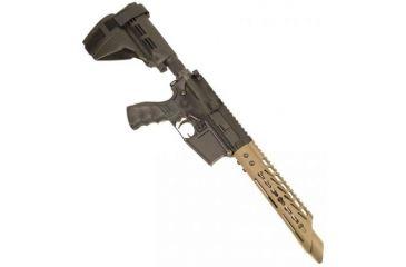 5-GUNTEC USA Ultra Thin Key Mod Free Floating Handguard w/Slant Nose