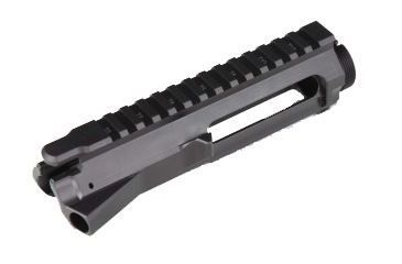 12-GUNTEC USA AR-15 Stripped Billet Upper Receiver
