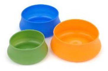 Splashguard Squishy Pet Bowl, Blue, 48 oz 356835