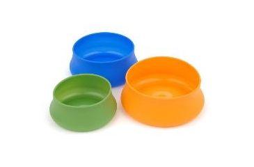 Splashguard Squishy Pet Bowl, Tangerine, 24 oz 356830