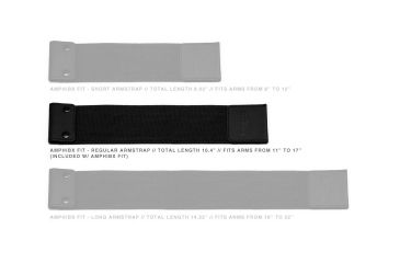 H2O Audio Amphibx Waterproof Armband, Medium H2O-WA2-5A1