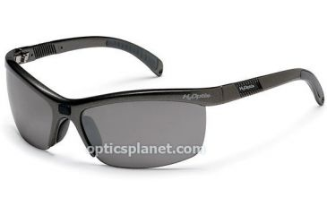 H2Optix Tarpon Sunglasses Polarized Grey Gradient Silver Lens, Metallic Grey Frame H98400 by Bolle 50% OFF