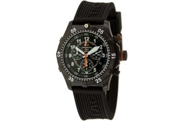 H3 Tactical H3.122131.11 Xtreme-Tec Mens Watch - 49mm, Black Dial, Black Rubber Band, Timer