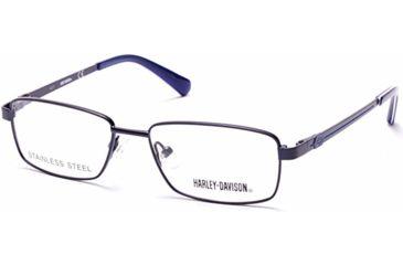 8e7d35a7f1a01 Harley Davidson Eyewear HD0134T Eyeglass Frames - Matte Blue Frame