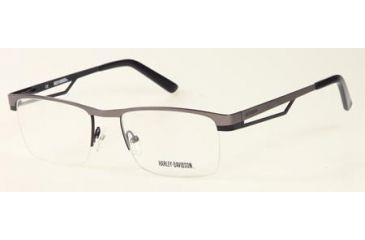 67983912cb3 Harley Davidson Eyewear HD0468 Single Vision Prescription Eyeglasses ...