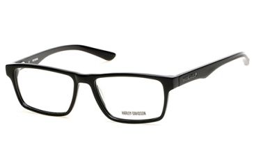 88cb466ddfb Harley Davidson Eyewear HD0727 Eyeglass Frames - Shiny Black Frame Color
