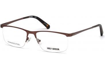 080f93b51cc Harley Davidson Eyewear HD0778 Eyeglass Frames - Matte Dark Brown Frame  Color