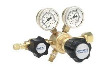 Harris Calorific High-Purity Single-Stage Gas Regulators, Brass 3001152