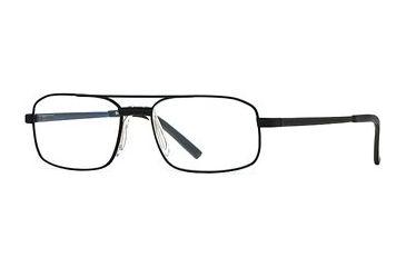 Hart Schaffner Marx HSM 743 SEHS 074400 Eyeglass Frames - Black SEHS 0744005645 BK