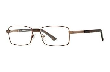 Hart Schaffner Marx HSM 745 SEHS 074500 Bifocal Prescription Eyeglasses - Brown SEHS 0745005545 BN