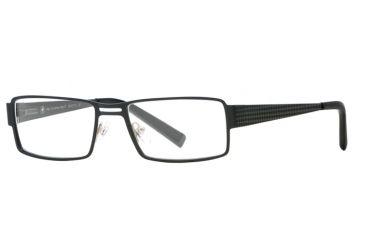 Hart Schaffner Marx HSM 753 SEHS 075300 Progressive Prescription Eyeglasses - Matte Black SEHS 0753005435 BK