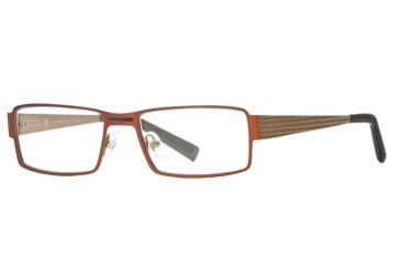 Hart Schaffner Marx HSM 753 SEHS 075300 Progressive Prescription Eyeglasses - Matte Copper SEHS 0753005435 CO