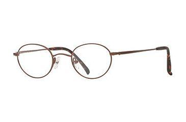 Hart Schaffner Marx HSM T-146 SEHS T14600 Eyeglass Frames - Brown SEHS T146004440 BN