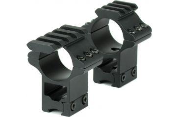 Hawke Sport Optics 2pc 1in. 9-11mm High Tactical, Black HM7405