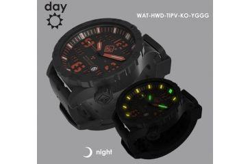 Hazard 4 Heavy Water Diver Titanium Black PVD Dive Watch ac28b006eded