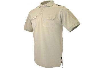 Hazard 4 QuickDry LEO Uniform Replacement Battle Polo, Tan, Large, NO APR-QDLEO-TAN-L