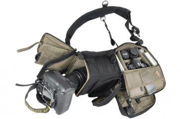 Hazard4 Evac PhotoRecon Sling Pack, Black EVC-PRC-BLK