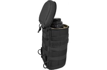 Hazard4 JellyRoll MOLLE Lens, Scope, Bottle Case, Black JLR-94-BLK