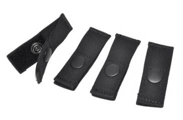 Hazard4 MOLLE PAL Pack of 4, Black ACS-MPAL-BLK