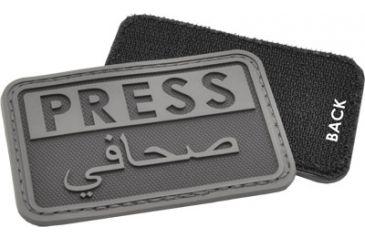 Hazard4 Press - Eng-Arabic Patch, Black PAT-PRS-BLK