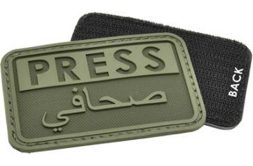 Hazard4 Press - Eng-Arabic Patch, OD Green PAT-PRS-GRN