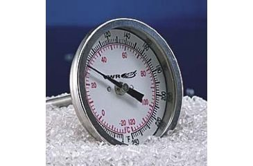 HB Instrument Company Dual-Scale Bi-Metal Dial Thermometers 21690 225 Mm (87/8'') Stem Length