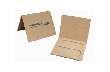 Heathrow Disposable Two-Place Slide Mailer HS9904V Vwr Mailer 2 Slide Cboard PK24