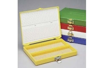 Heathrow Microscope Slide Boxes, 100-Place HS15994F