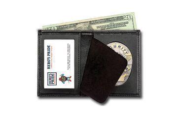 Heros Pride Deluxe Bi-fold Badge Wallet w/ ID window - LAPD Badge Die Cut 4 9105-0004