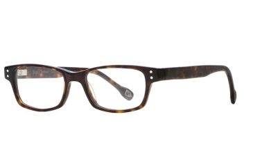 Hickey Freeman HF Cornell SEHF CORN00 Progressive Prescription Eyeglasses - Amber SEHF CORN004940 AM