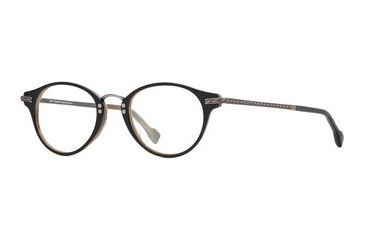 Hickey Freeman HF Newport SEHF NEWP00 Bifocal Prescription Eyeglasses - Black Horn SEHF NEWP004645 BK
