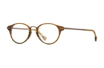 Hickey Freeman HF Newport SEHF NEWP00 Bifocal Prescription Eyeglasses - Khaki Stripe SEHF NEWP004645 GN
