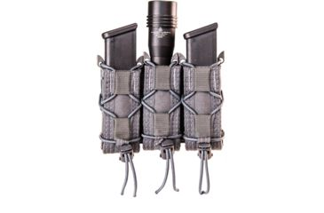 6-High Speed Gear HSGI Triple Pistol TACO Molle Mag Pouch